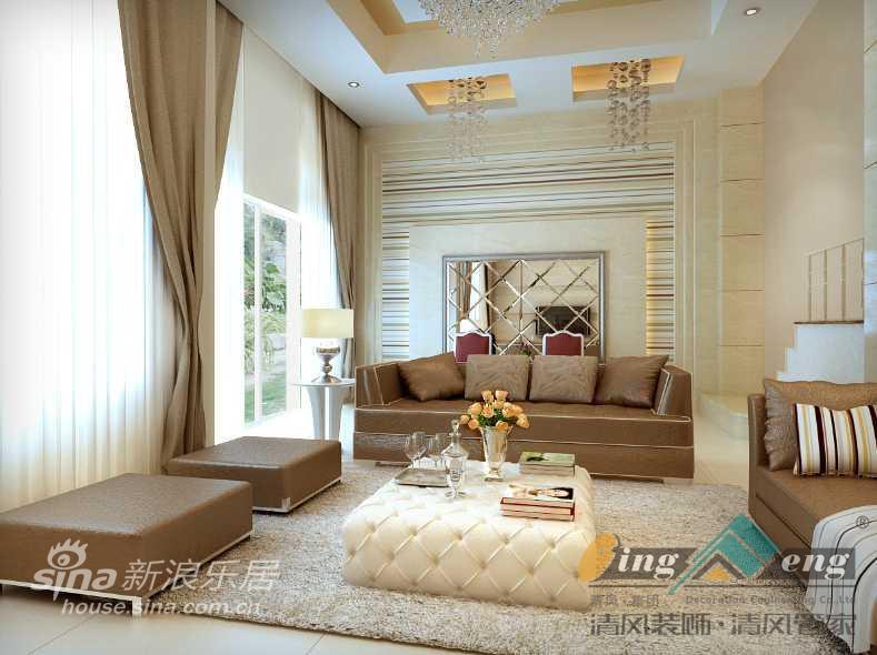 其他 别墅 客厅图片来自用户2557963305在苏州清风装饰设计师案例赏析357的分享