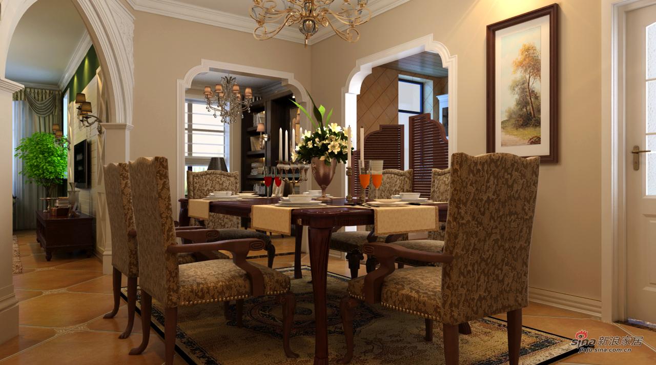 地中海 三居 餐厅图片来自用户2757320995在地中海142平幸福田园3居61的分享