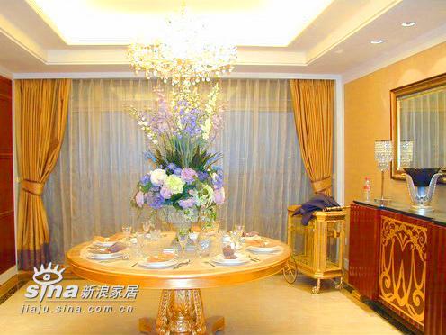 欧式 别墅 餐厅图片来自用户2757317061在上海明申花园12的分享