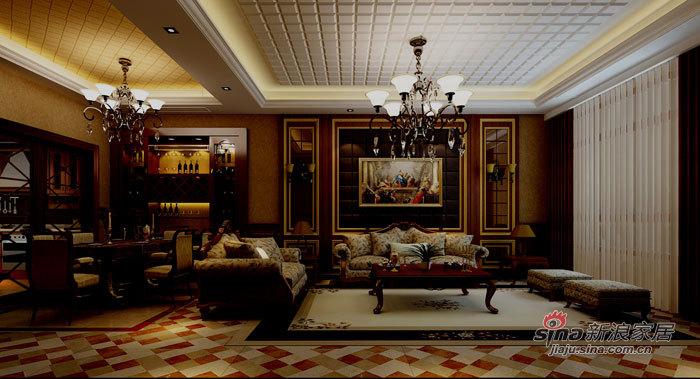 欧式 复式 客厅图片来自用户2757317061在日月光水岸花园70的分享