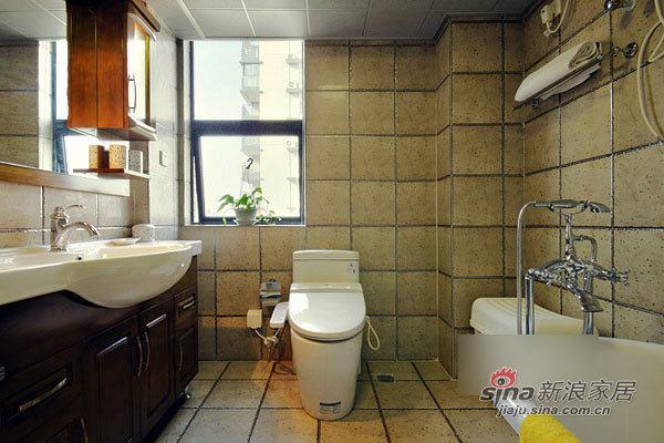 简约 二居 卫生间图片来自用户2739153147在简洁实用12万装130平宜家3居21的分享