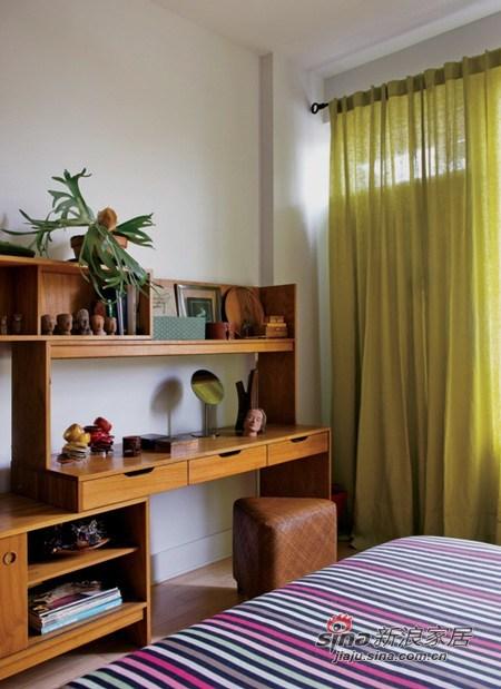 简约 三居 卧室图片来自用户2558728947在127平田园美家3居仅8.4万63的分享