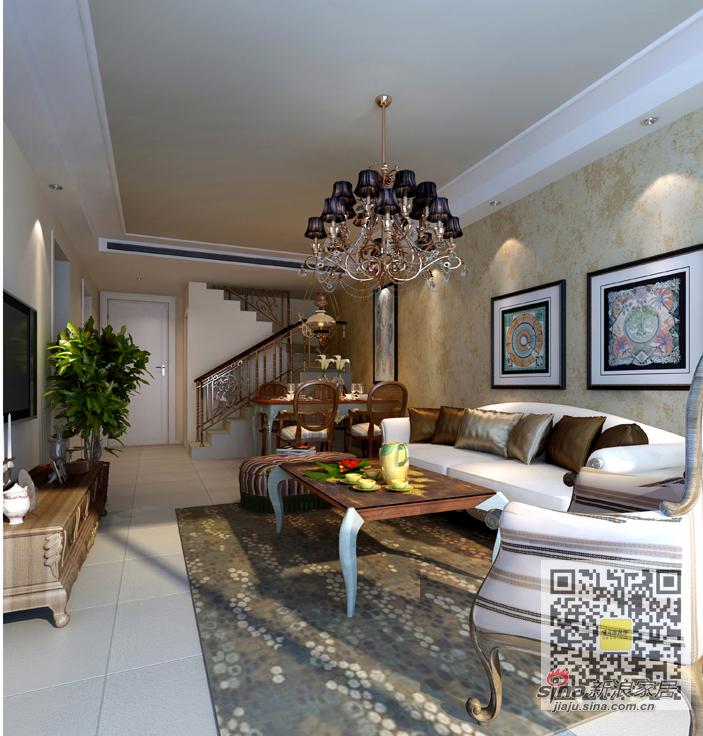 简约 三居 客厅图片来自用户2557010253在尚城国际现代简约三居室99的分享