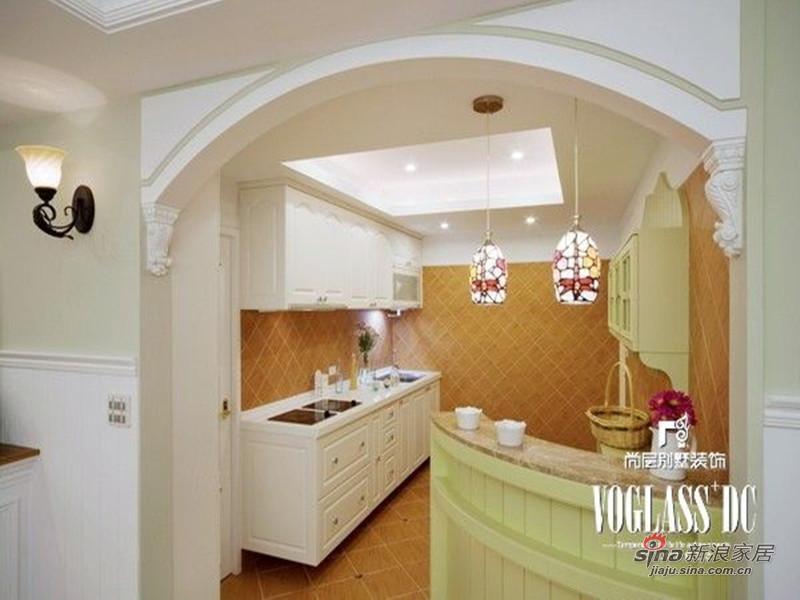 美式 别墅 厨房图片来自用户1907685403在欧香小镇517平美式乡村风格44的分享