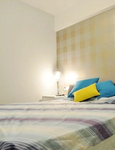 简约 二居 卧室图片来自用户2738829145在11万打造北漂98平白色简约两居31的分享