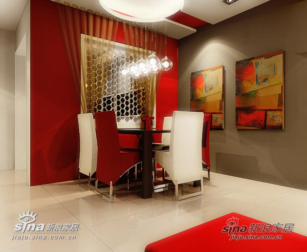 简约 二居 餐厅图片来自用户2737735823在红色+浪漫橙装修88平米出色宅女家园花费4.9万29的分享