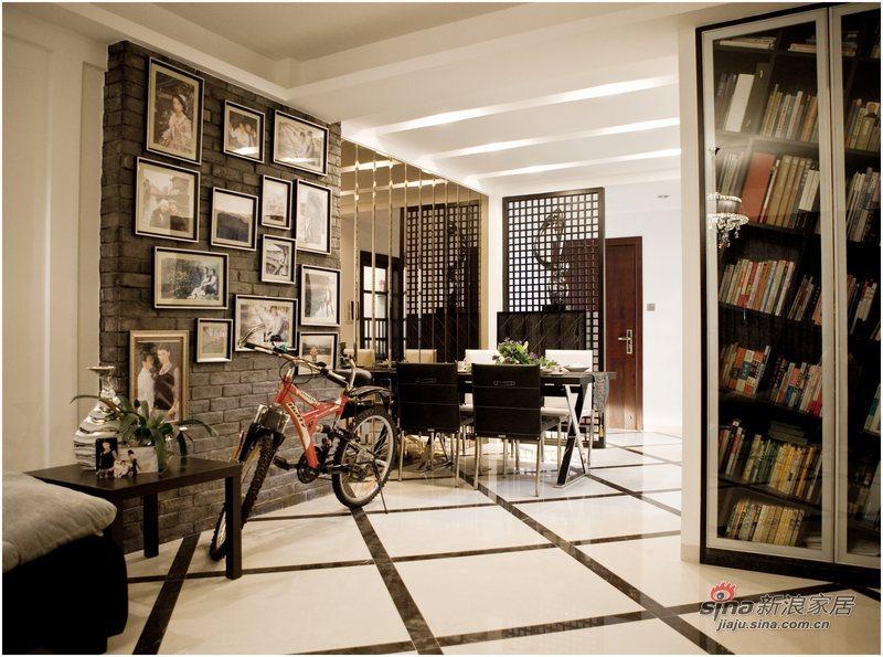 简约 三居 餐厅图片来自用户2739081033在黑白印象87的分享