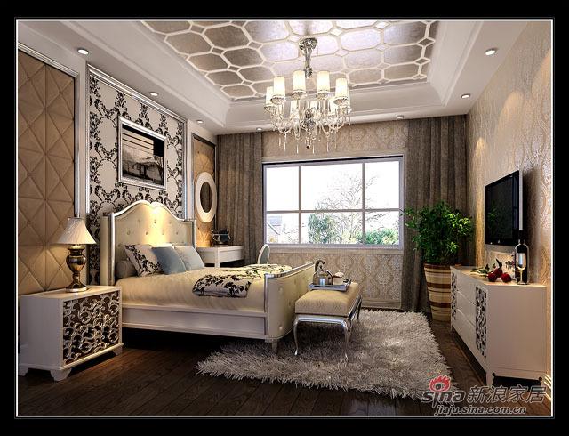 欧式 三居 卧室图片来自用户2746948411在首城国际93的分享