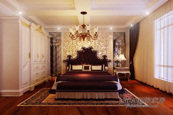 欧式 三居 卧室图片来自用户2746953981在【宏发长岛】150平米宜家简约欧式99的分享