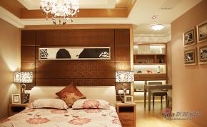 港式 三居 卧室 白富美图片来自佰辰生活装饰在16万打造120平港式氛围空间68的分享