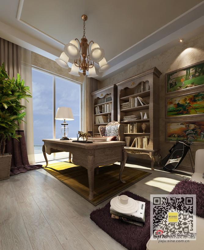 简约 三居 书房图片来自用户2557010253在尚城国际现代简约三居室99的分享