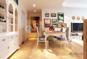 地中海 三居 餐厅 高富帅图片来自阳光力天装饰在弘泽鉴筑-三室一厅一厨一卫-地中海风格39的分享