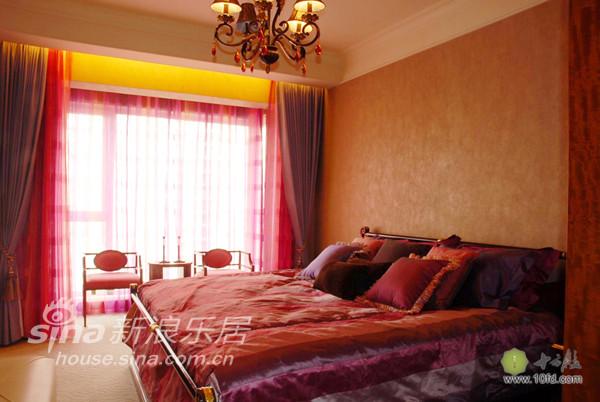 客卧1,大红色,具有中国特色