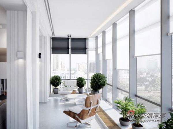 简约 公寓 阳台图片来自用户2737782783在150平宽敞明亮又实用美观公寓64的分享