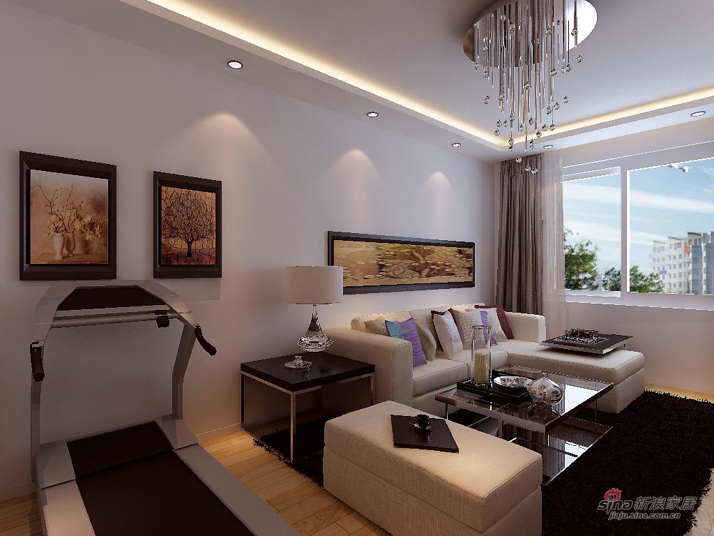 简约 二居 客厅图片来自用户2738820801在现代简约派江湖第一派71的分享