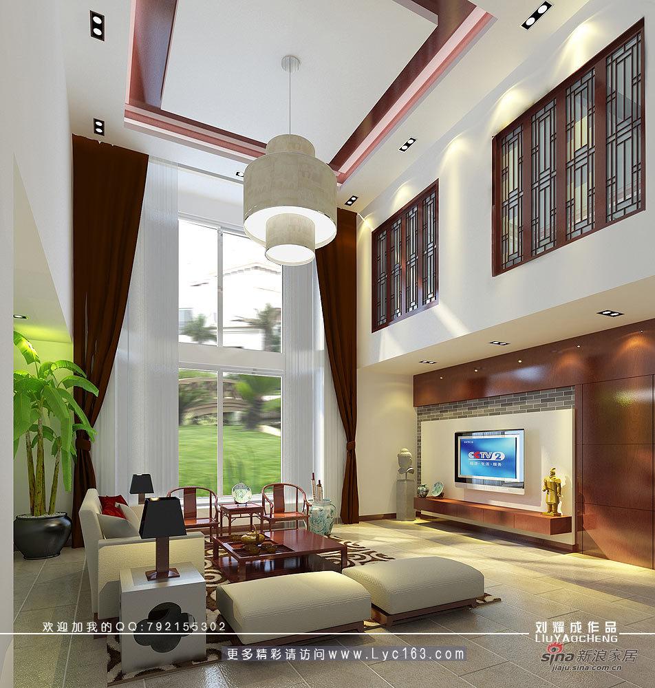 中式 别墅 客厅图片来自用户1907662981在书香府邸71的分享