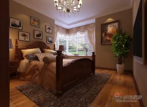 中式 三居 卧室 白富美图片来自用户1907696363在丽湾国际72的分享