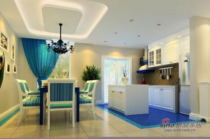 地中海 三居 客厅图片来自用户2757320995在7.2万打造远洋城地中海风情72的分享