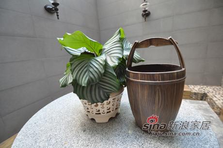 看似小木桶,其实是陶瓷的