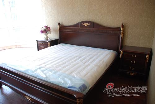 欧式 三居 卧室图片来自用户2746948411在化设计于无形15的分享