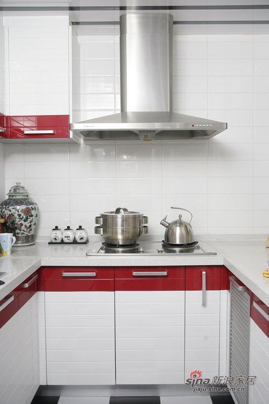 简约 一居 厨房图片来自用户2557010253在玫瑰绽放小一居35的分享