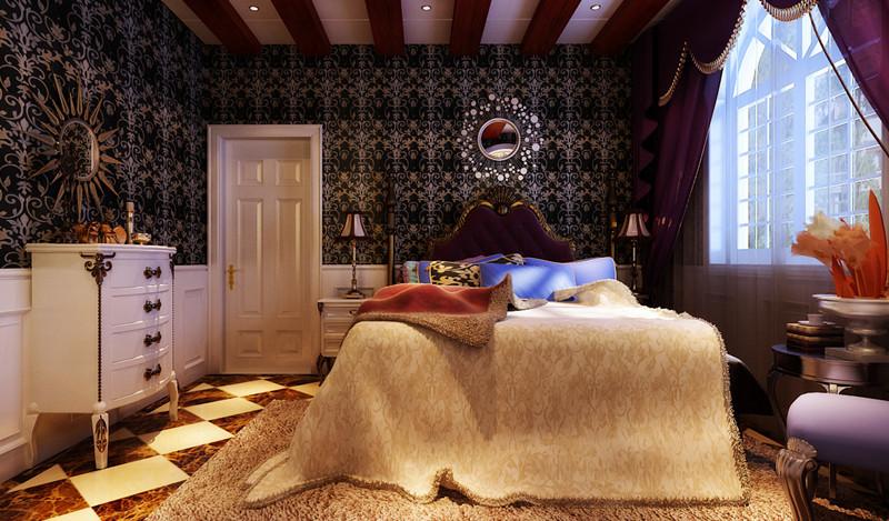 欧式 别墅 卧室图片来自用户2772856065在23万打造现代奢华的别墅大宅设计39的分享