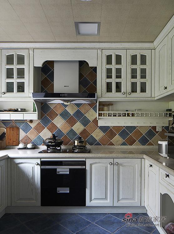 地中海 三居 厨房图片来自用户2757320995在【高清】夫妻150平地中海浪漫3居室54的分享