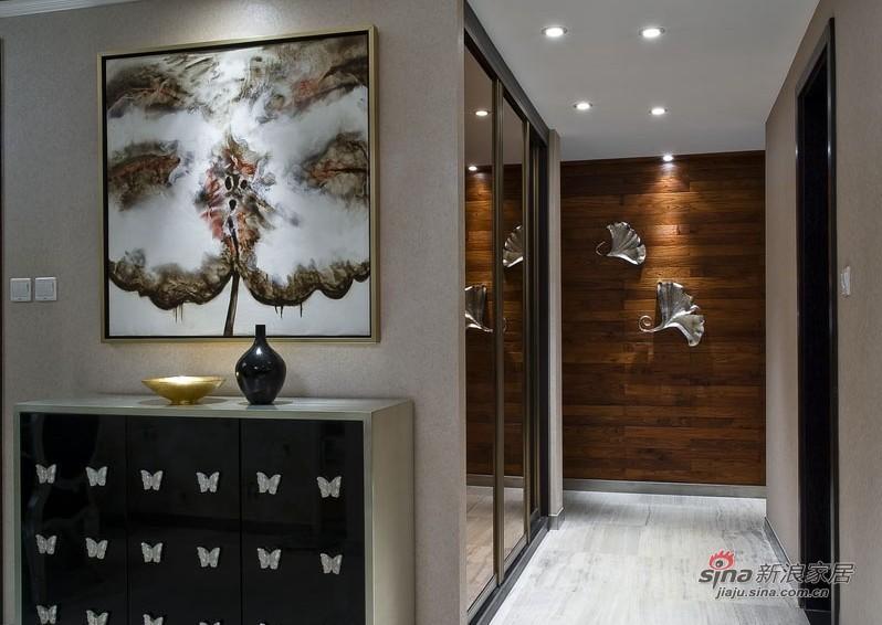 新古典 三居 客厅图片来自家装大管家在【高清】9万装102平新古典时尚居27的分享