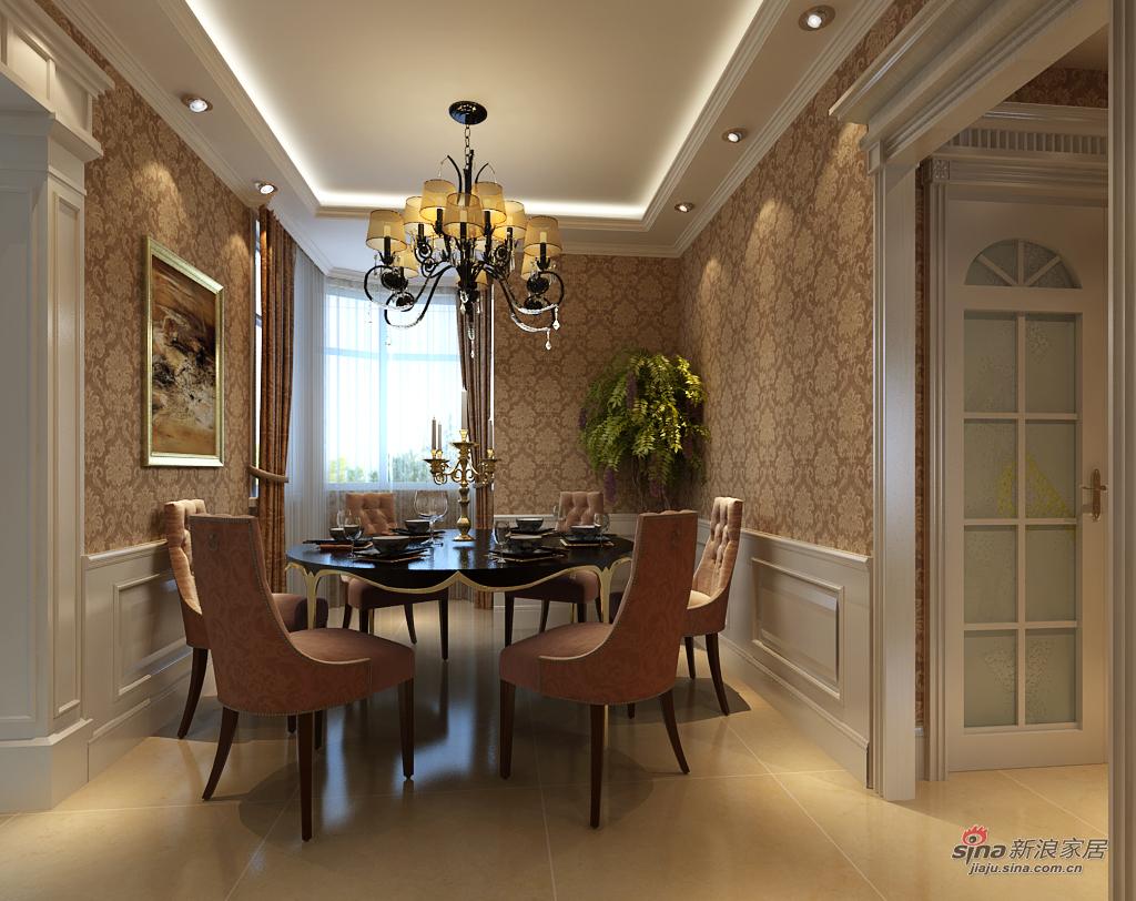 欧式 复式 餐厅图片来自用户2772873991在【高清】欧式古典290平米复式大图73的分享