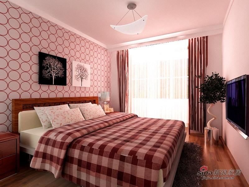 简约 一居 卧室图片来自用户2737782783在3.5万打造60平米简约明亮大气一居室96的分享