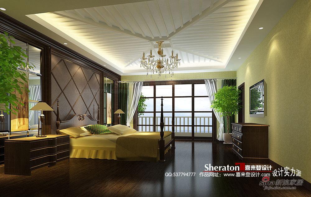 新古典 别墅 卧室图片来自用户1907664341在我的专辑383559的分享