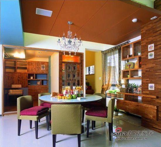 混搭 三居 餐厅图片来自用户1907655435在【多图】简约田园混搭美家设计实景图40的分享