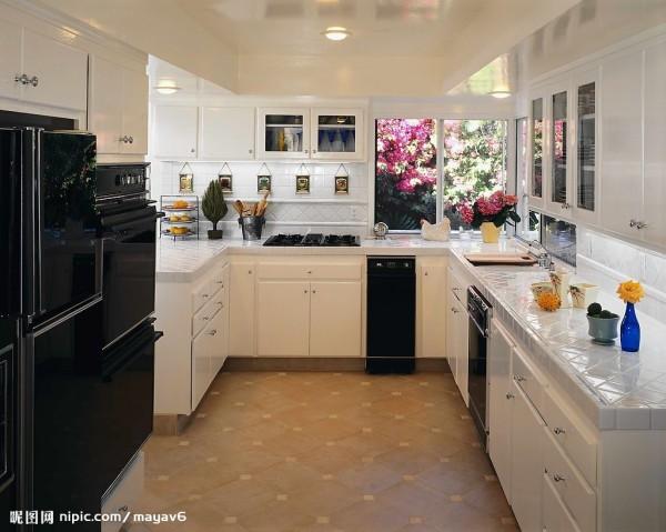 很漂亮的厨房