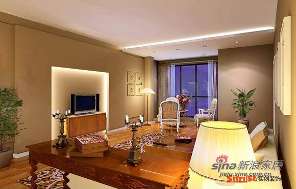 欧式 三居 客厅图片来自用户2746869241在143平简欧三居31的分享