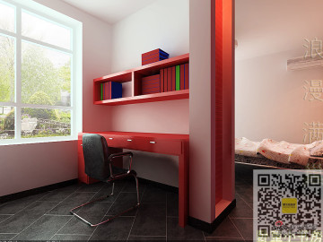 现代简约两居室浪漫满巢56