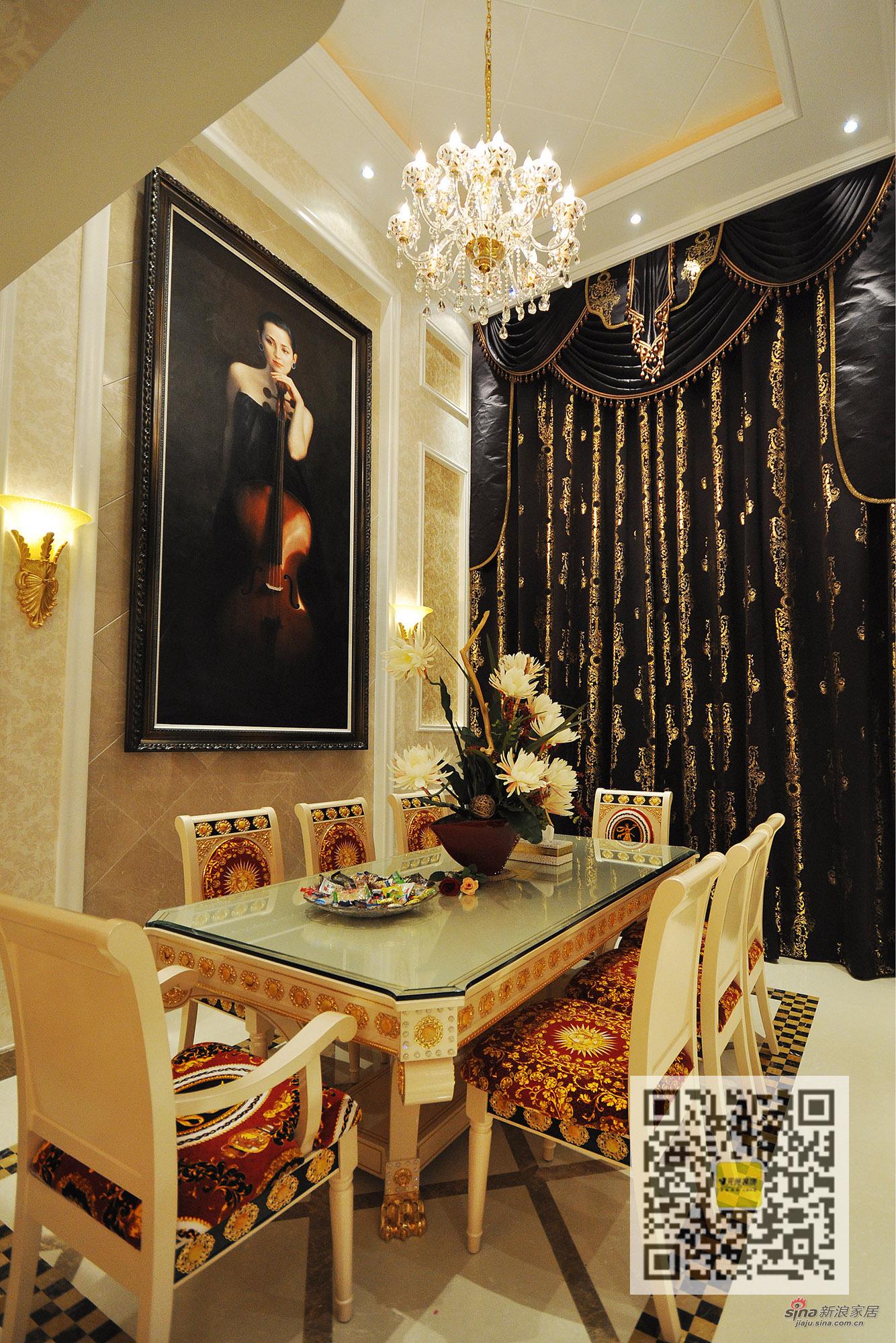 其他 别墅 餐厅图片来自用户2737948467在新巴洛克风格别墅设计42的分享