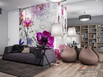 崇尚自由300平简欧风公寓设计93
