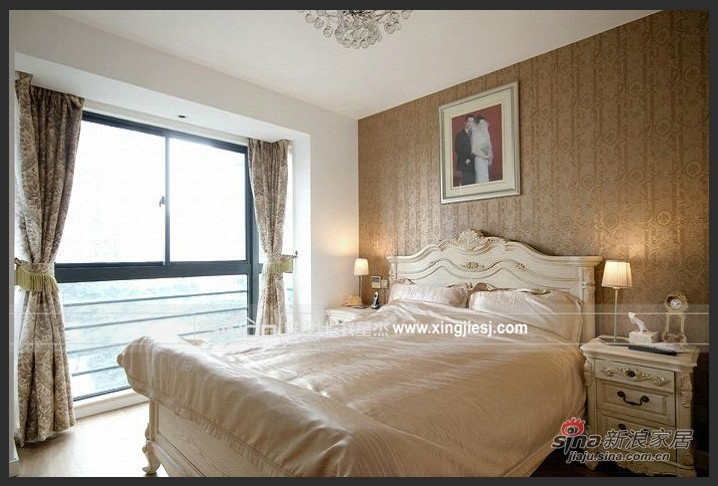 欧式 四居 卧室图片来自用户2772856065在简欧15的分享