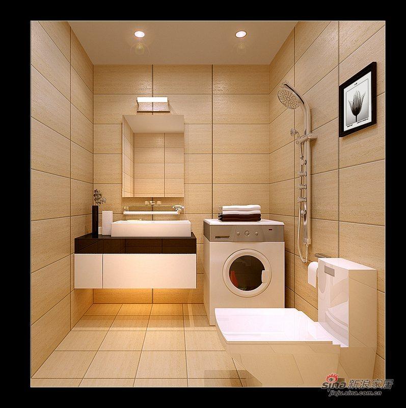 简约 二居 卫生间图片来自用户2558728947在百安居简约风格两居34的分享