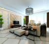 260平四室简约风格设计效果79