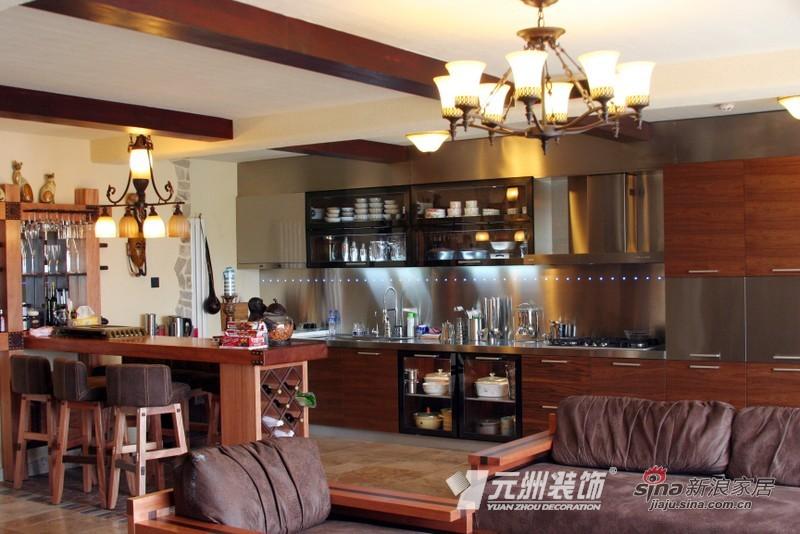 田园 二居 客厅图片来自用户2557006183在文艺MM向往莫奈式生活 田园型橱柜还原乡村风22的分享