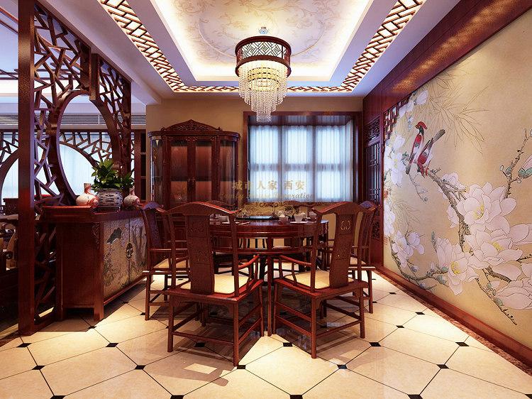 中式 四居 餐厅图片来自用户1907696363在浐灞半岛中式装修设计,不一样的中国风56的分享