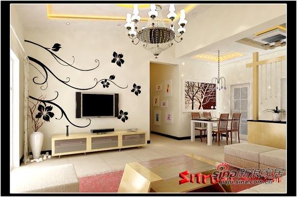 简约 三居 客厅图片来自用户2745807237在简洁、温馨的三居室85的分享