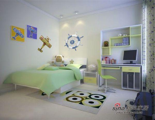 简约 三居 卧室图片来自用户2738829145在121平打造幸福时代简约装修设计案例44的分享