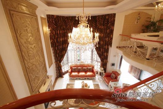 欧式 别墅 客厅图片来自用户2772856065在15万装倾世皇妃230平别墅64的分享