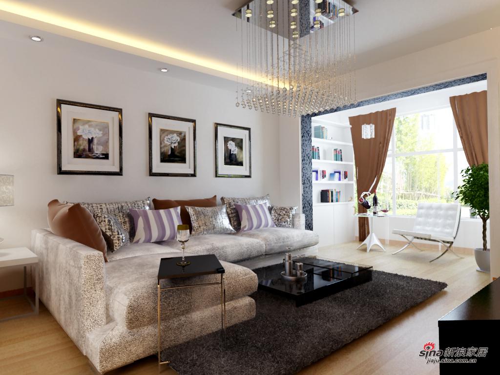 简约 二居 客厅图片来自用户2739153147在我的专辑699594的分享