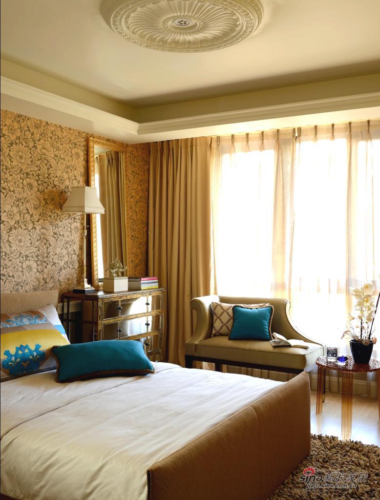 欧式 别墅 卧室图片来自用户2745758987在【高清】格调色彩 品味生活Beautiful Mind36的分享