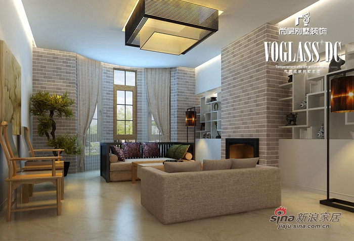 简约 别墅 客厅图片来自用户2739153147在简约保利西山林语60的分享
