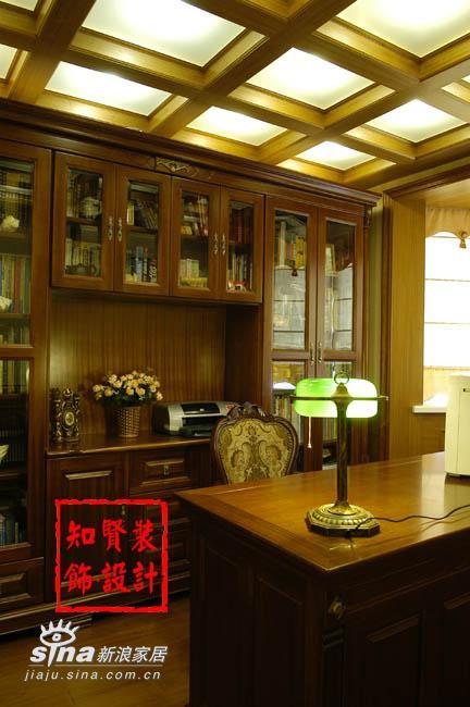 简约 三居 书房图片来自用户2738093703在知贤装饰五81的分享