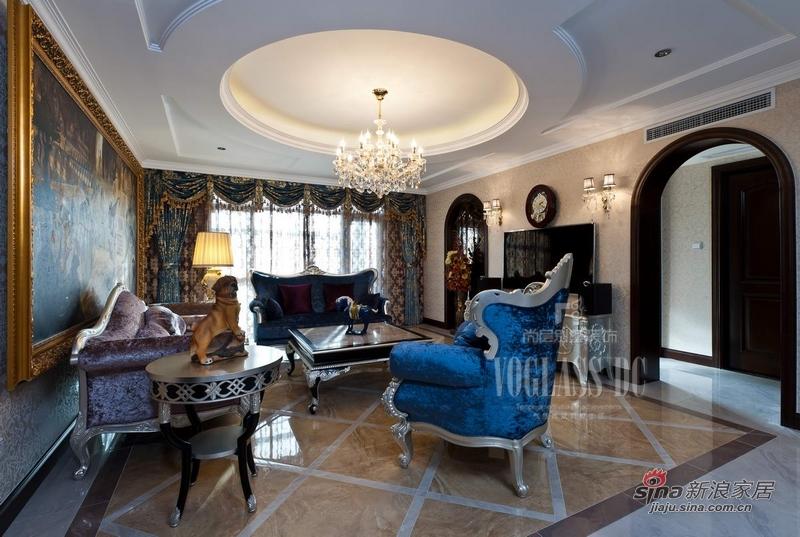 欧式 别墅 客厅图片来自用户2746889121在身边活色生香的欧式古典27的分享